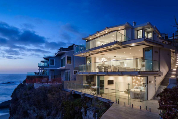 Clifftop Home