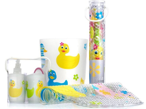 20 kids bathroom accessories for girls home design lover for Duck bathroom accessories