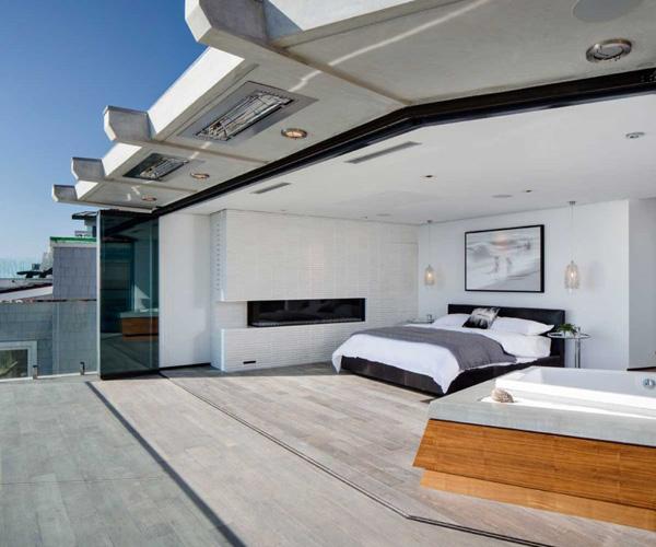 bedroom terrace