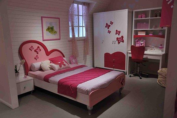 Princess Heart Bed