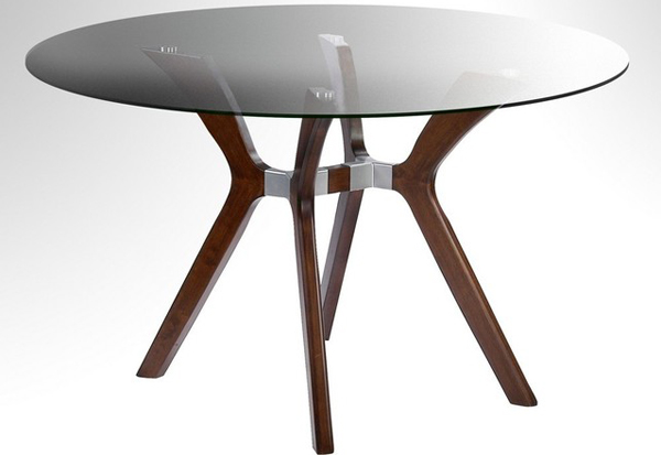 Round Glass Dining Table 48 Inches: 20 Glamorous 72-inch Glass Round Dining Tables