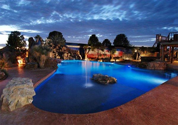 free form natural pool