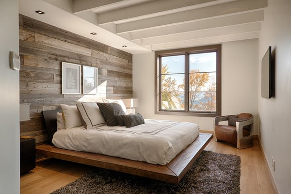 20 Fantastic Bedrooms With Pallet Walls Home Design Lover