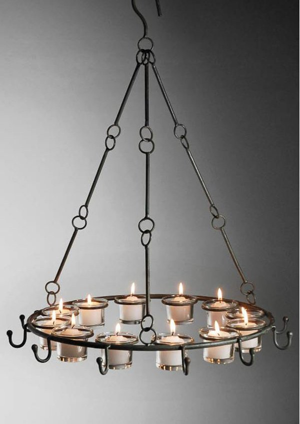 20 Lovely Outdoor Candle Chandeliers