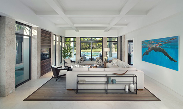 Estuary custom 4 a high end contemporary home in florida for Salon de luxe moderne
