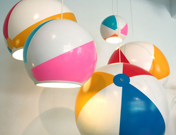 Beach Ball Lamp