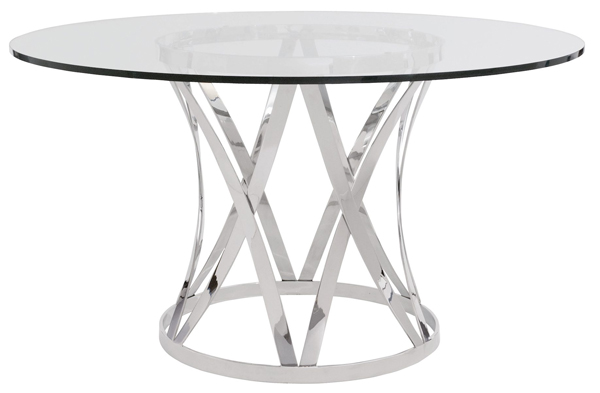 20 Glamorous 72 Inch Glass Round Dining Tables Home Design Lover