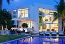 Luxurious and Pervading Lights in the 96 Golden Beach Drive in Florida, USA