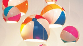 Beach Ball Lamp: Adding Fun and Color to Your Homes