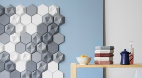 Interesting and Geometric Edgy Tiles for Decorative Walls
