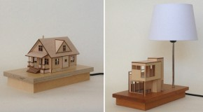 Beautiful Miniature Houses Illuminate Home Spaces