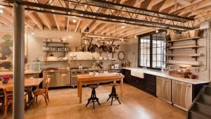 kitchen open ceiling