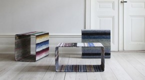 Swedish Rag Rugs Recycled Into Unique Tables