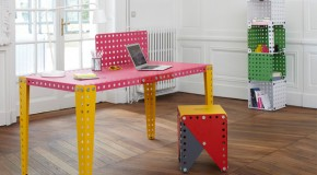MECCANO Metal Modules: Evolving Furniture to Fit Your Needs