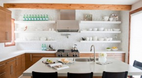 20 Contemporary Floating Shelves in the Kitchen