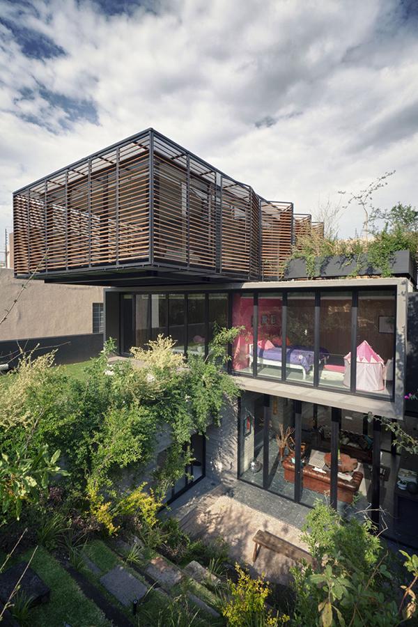 Contemporary Mexico house