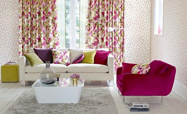 Pick a painterly floral print