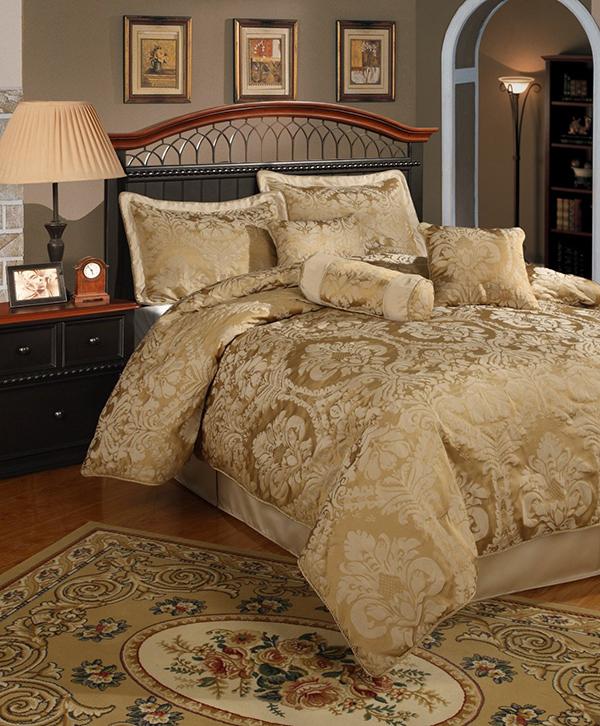 20 Fancy Golden Colored Bed Linens Home Design Lover