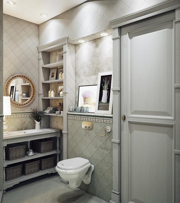 Shower Tiles Room