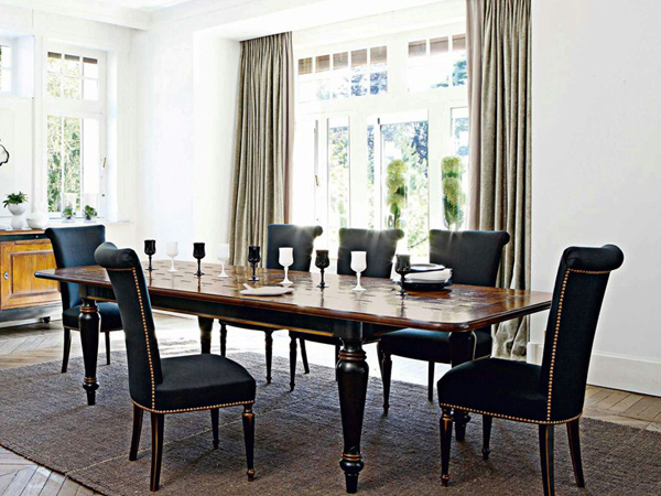 20 Sophisticated Rectangular Oak Dining Room Tables