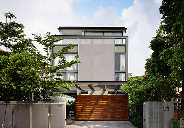 Sensational two storey bungalow in singapore home design for Home designs singapore