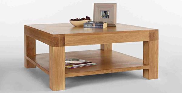 20 amazing square oak coffee tables   home design lover