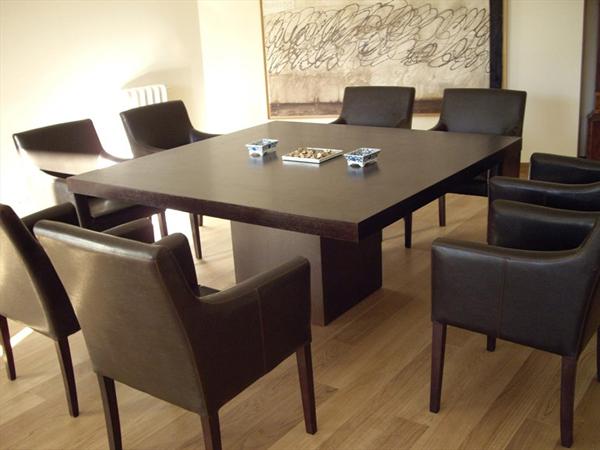 20 splendid square oak dining room tables | home design lover