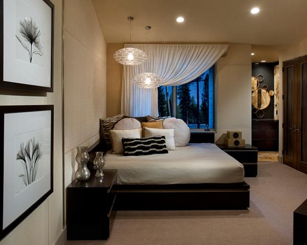 Дизайн стен в спальне: выбор цвета, варианты