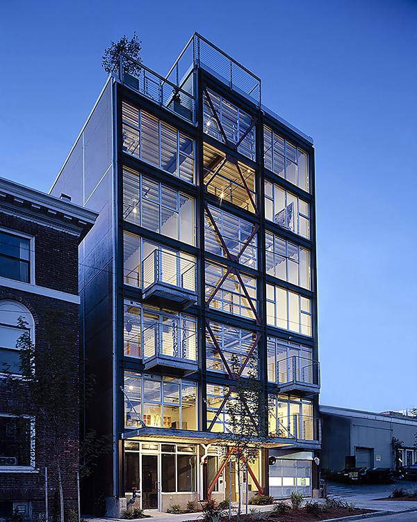 loft-style condominiums