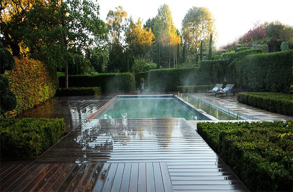 ecological swimming pool