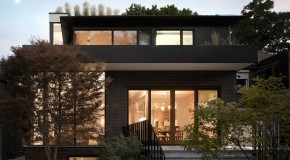 Bedford Park House: A Home That Adopts to the Neighborhood in Canada