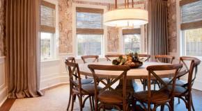 20 Charming Circular Oak Dining Room Tables