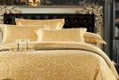 20 Fancy Golden Colored Bed Linens