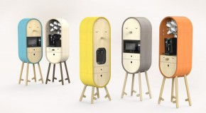 Capsular Microkitchen Lo-Lo With a Cute Personality