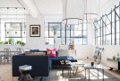 Airy Industrial London Loft Apartment in England