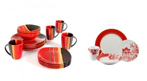 20 Bold and Stunning Red Dinnerware Sets
