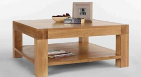 20 Amazing Square Oak Coffee Tables