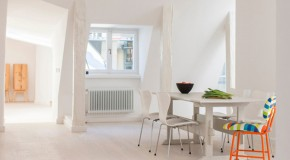 Surprising Features of the Wooden Elements in Stockholm Apartment 2 in Sweden