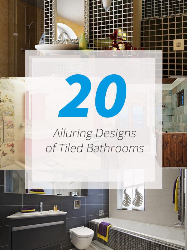 tiled bathrooms