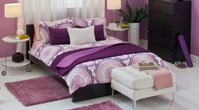 20 Royal and Sophisticated Violet Bed Linens