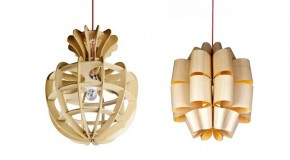20 Beautiful Home Decors: Wooden Pendant Lights