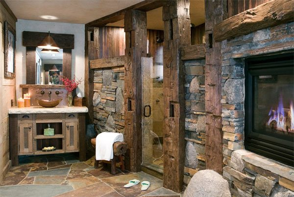 Rustic Bathroom Designs: 26 Impressive Ideas Of Rustic Bathroom Vanity