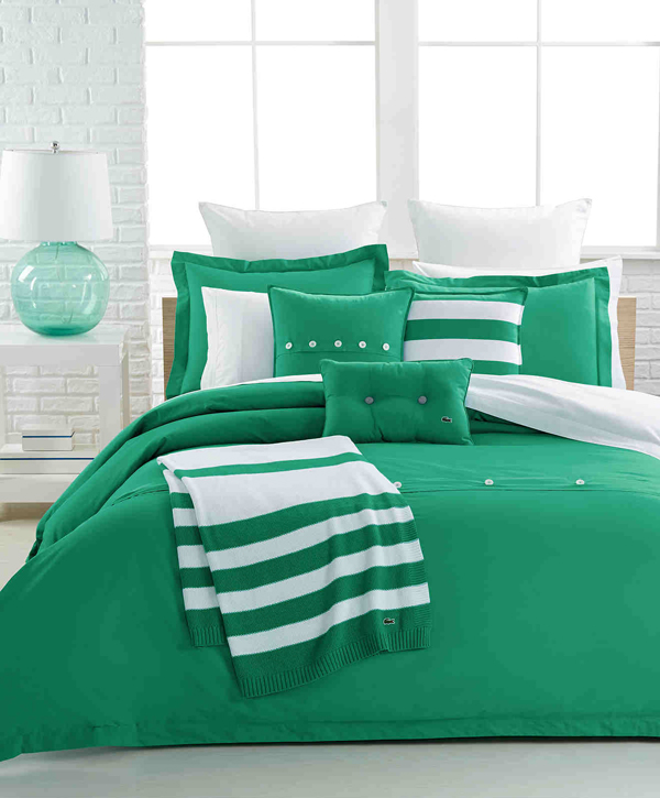 20 bed linens in different shades of green | home design lover