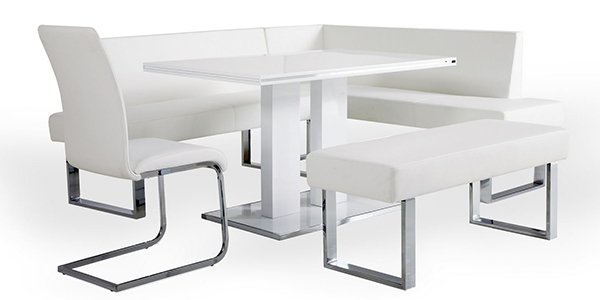 20 Lovely Dining Sets With Bench Home Design Lover : 11 amanda from homedesignlover.com size 600 x 300 jpeg 60kB