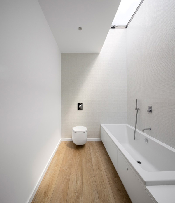 bathroom clean