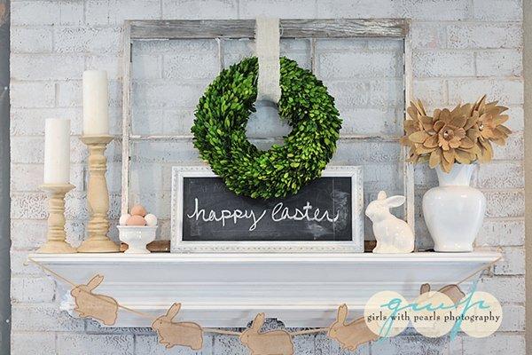 Easter Mantle DIY