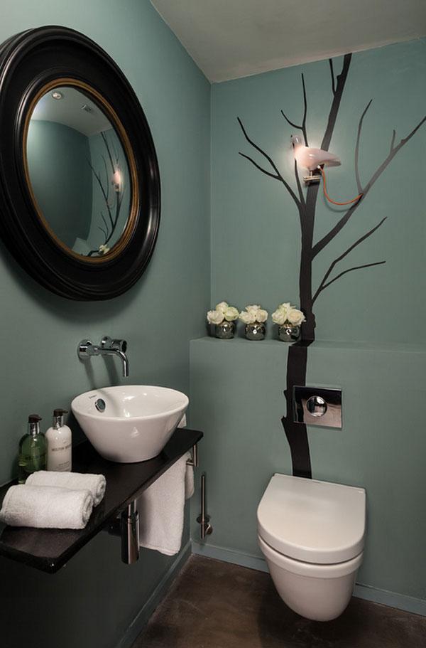 22 eclectic ideas of bathroom wall decor home design lover - Bathroom Wall Decor Ideas