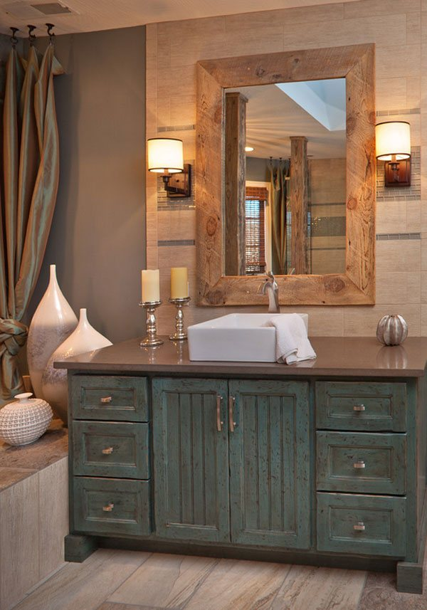 26 Bathroom Vanity Ideas: 26 Impressive Ideas Of Rustic Bathroom Vanity