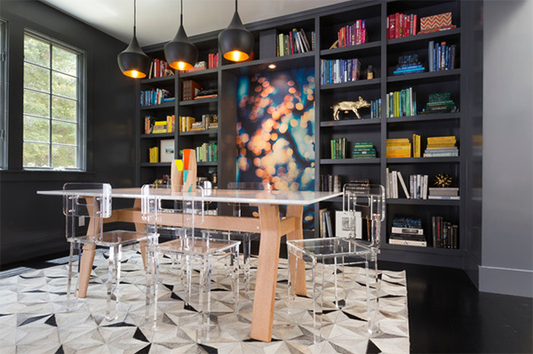 20 dining rooms featuring humble transparent dining chairs   home