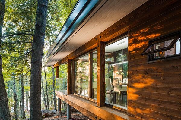 exterior wooden walls